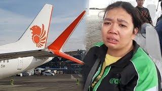 Kesaksian Driver Ojol Mengaku Lihat Pesawat Lion Air Terbang Miring dan Keluarkan Asap