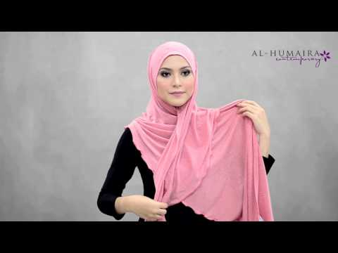 ROXANE shawl styling tutorial by Al Humaira Contemporary