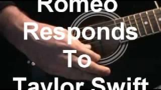 Romeo Responds to Taylor Swift/Parody of