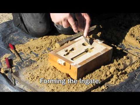 Metal Casting at Home Part 26 How to make Greensand
