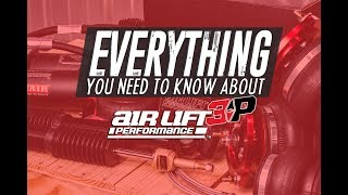 Everything YOU need to know about AIRLIFT SUSPENSION