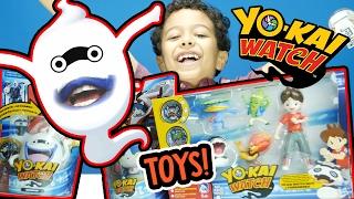 YO-KAI Watch Toys + Real Life WHISPER + Nate, Pandanoko, Robonyan, Wiglin Figures!