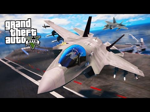 watch REALISTIC FIGHTER JETS!! (GTA 5 Mods)