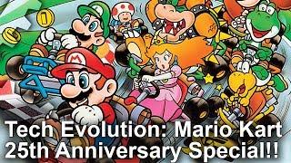 Tech Evolution: Mario Kart 25th Anniversary Special! 9 Games, 9 Consoles!
