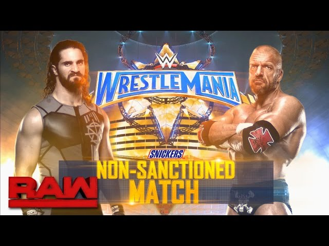 Seth Rollins risks it all for retribution against Triple H at WrestleMania: Raw, March 27, 2017