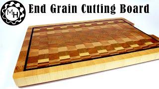 Making an End Grain Cutting board