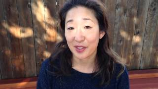 """Sandra Oh recites """"Absolutely Clear"""", a poem by Hafiz"""