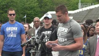 Gronk donates $70,000 for female sports equipment to New England schools