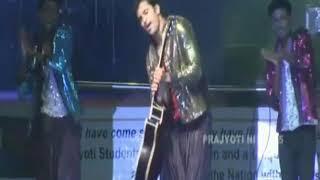 Unni mukundhan dance performance  Prajyoti night 2015 Prajyoti Niketan college pudukad Thrissur