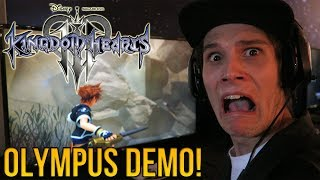 Kingdom Hearts 3 - HANDS ON OLYMPUS DEMO GAMEPLAY!