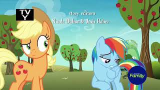 My little pony — the gold horse shoe gals