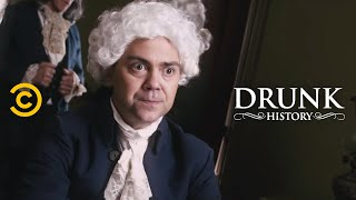 Drunk History - John Adams and Thomas Jefferson Had Beef
