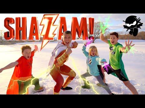 SHAZAM Ninja Kidz Movie Remastered
