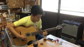A.T.guitars sample petit bouche - played by visitor, Genta Osaki