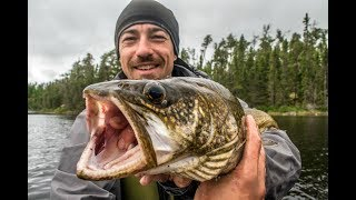 Catch and Cook and Camp! Beautiful Lake Trout- 8 Days in the Wild!