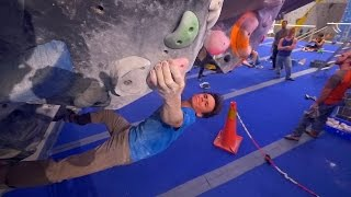Fredrik Is Crushing A V11 This Bouldering Session!