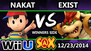 S@X - Exist (Bowser) Vs. LoF | Nakat (NesS) SSB4 Winners - Smash 4 Wii U