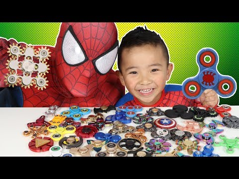 Xxx Mp4 45 Must Have FIDGET SPINNERS Spiderman S Collection 3gp Sex