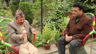 Hello Namaste with Santosh Panta # Host by  Nirmal Sharma  (Exclusive Interview )