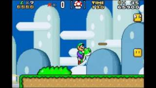 Playthrough - Super Mario Advance 2: SMW (Color Restoration) - World 1 Part 1 (Part 1)