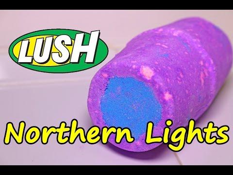 Lush Northern Lights Bath Bomb Demo