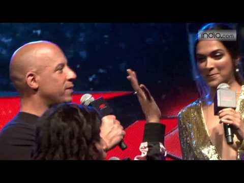 Vin Diesel & Deepika Padukone at meet with fans to promote the film XXX : Return of Xander Cage