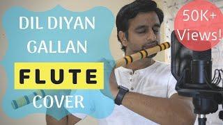 Heart Touching Flute Cover - Dil Diyan Gallan   Tiger Zinda Hai - by Sriharsha Ramkumar