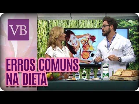 watch Erros comuns na dieta - Você Bonita (27/07/16)