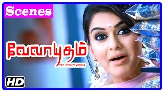 Velayudham Tamil Movie | Scenes | Genelia misunderstands Vijay | Vijay returns lost briefcase