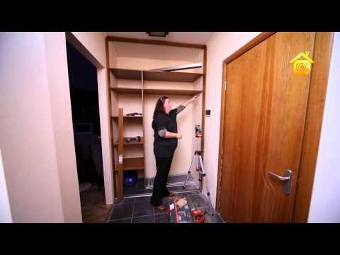 Как в нише сделать шкаф купе своими руками