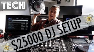 The $25000 DJ Setup [Pioneer DJ Tour1]