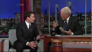 Jimmy Fallon Letterman 2012 09 27 HQ