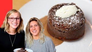 Molten Chocolate Cake (Sugar-Free!) : Paris Vlog #18