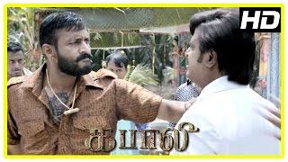 Kabali Tamil Movie | Kishore Scenes | Rajinikanth | Dhansika | Radhika Apte | Kalaiyarasan | Dinesh