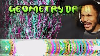 THESE LEVELS ARE OUT[RAGE]OUS | Geometry Dash #15