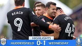 Huddersfield Town 0 Sheffield Wednesday 1   Extended highlights   2016/17