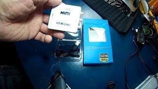 RioRand Mini HDMI to RCA HD Video converter(review)