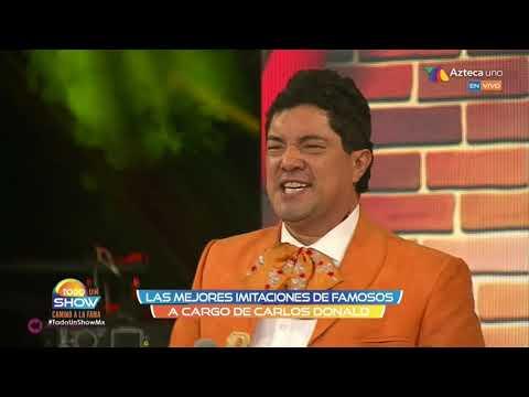 Vicente Fernández Piporro Alberto Vazquez Cornelio Reyna Pedro Infante y Resortes en Carlos Donald