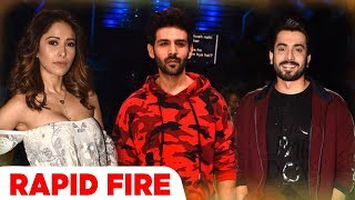 Sonu Ke Titu Ki Sweety   Rapid Fire   Nushrat Bharucha   Kartik Aaryan   Sunny Singh