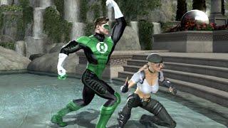 Mortal Kombat vs DC Universe Green Lantern Arcade Mode (Playstation 3)