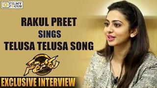 Rakul Preet Singh Sings