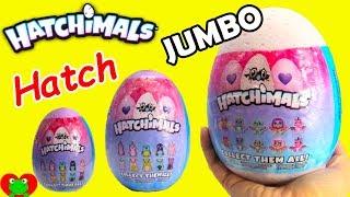 JUMBO Hatchimals Glittering Garden Twin Surprise Eggs