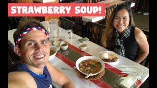 Travelling from MANILA to BAGUIO with my Filipina Girlfriend (Strawberry Soup)