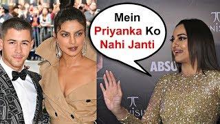 Sonakshi Sinha Shocking Reaction On Priyanka Chopra And Nick Jonas Wedding