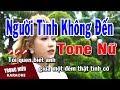 Karaoke Người Tình Không Đến Tone Nữ Nhạc Sống   Trọng Hiếu
