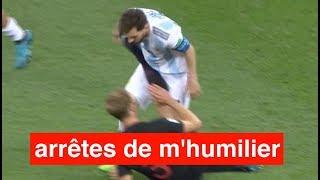 Ce Que Lionel Messi a fait contre la Croatie
