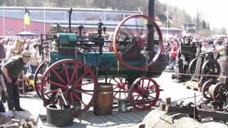 Lanz Dampfmaschine mit Generator und Schmiedehammer