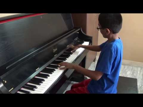 BACH: Toccata & Fugue (played by 10-year-old student of mine)