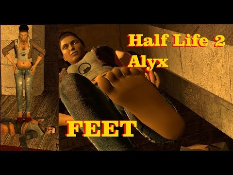 Half Life 2 Alyx Feet Trample 3D Feet Soles