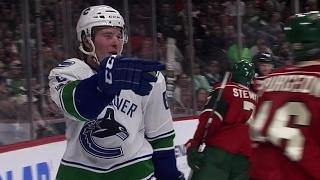 Canucks' Boeser scores 1st career goal in NHL debut